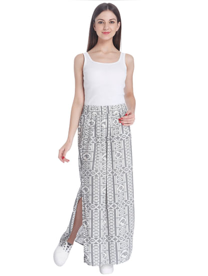 Printed Casual Skirt