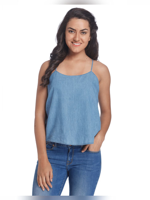 Solid Casual Top