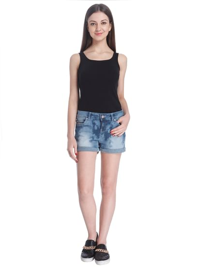 Denim Casual Shorts