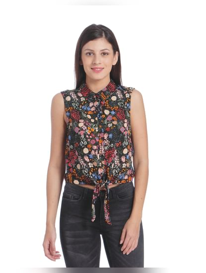 Women Casual Floral Printed Shirt