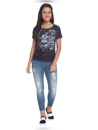 Printed Casual T-Shirt