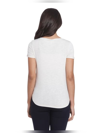 Casual Solid T-Shirt