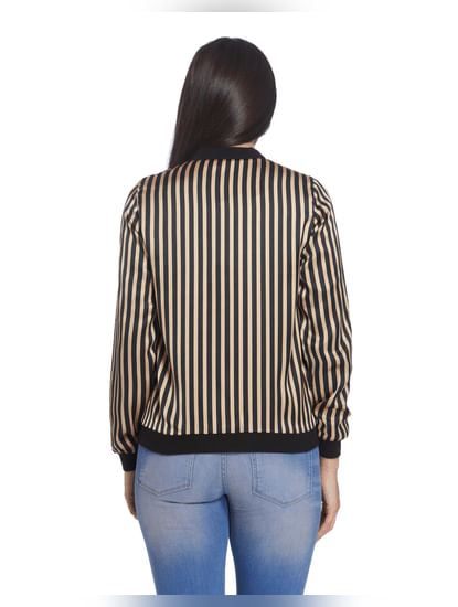 Striped Casual Jacket