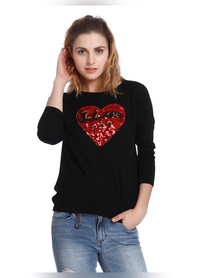 Sequined Christmas Pullover