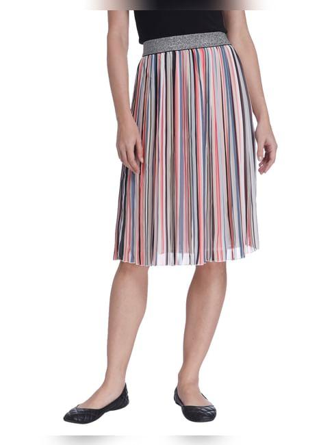 Stripes Party Skirt