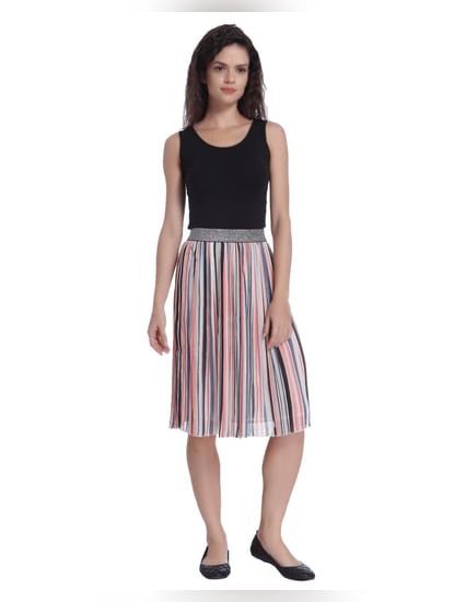 Stripes Party Skirt