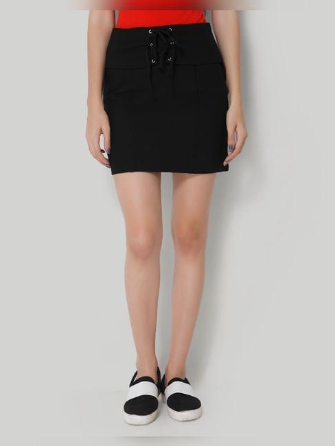 Black Corset Short Skirt