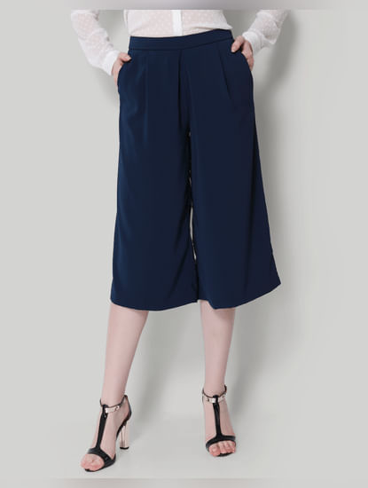 Dark Blue Culottes