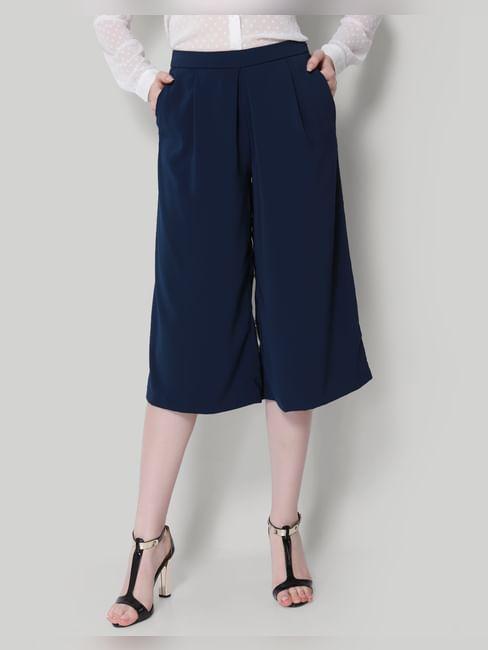 Dark Blue Culottes