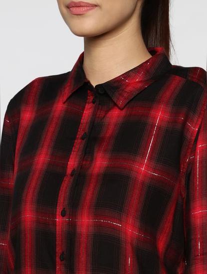 Red Checks Shirt