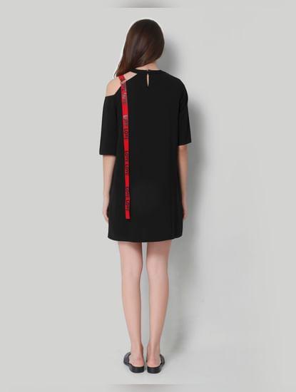 Black Short Shift Dress