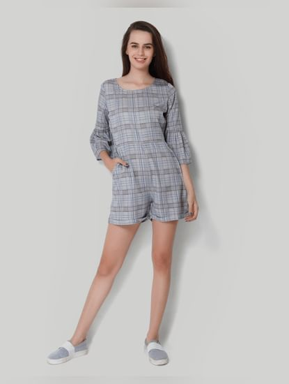 X Marvel Grey Self Design Shift Dress