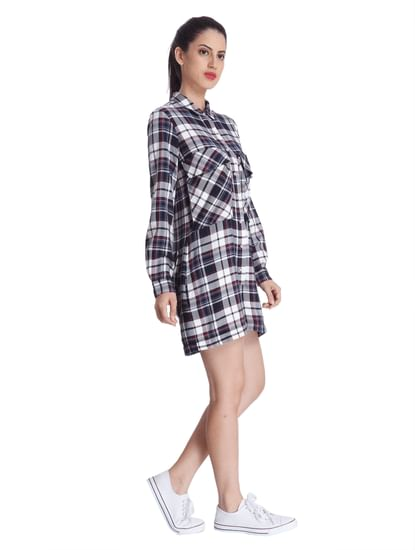 Women Casual Checks Playsuit