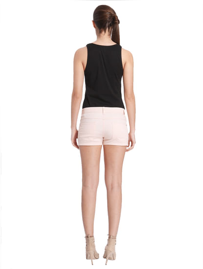 Women Casual Solid Shorts