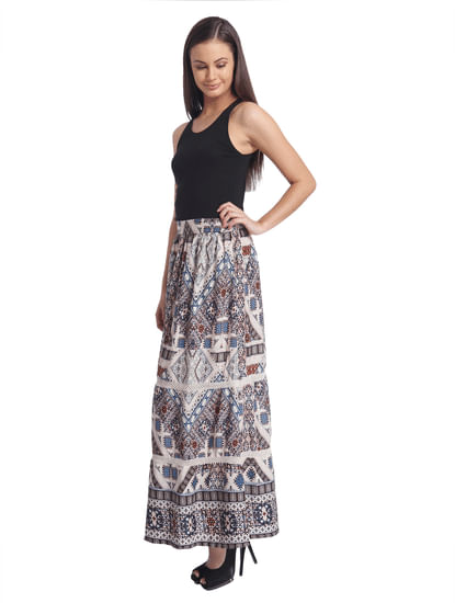 Women Casual Printed Skirt