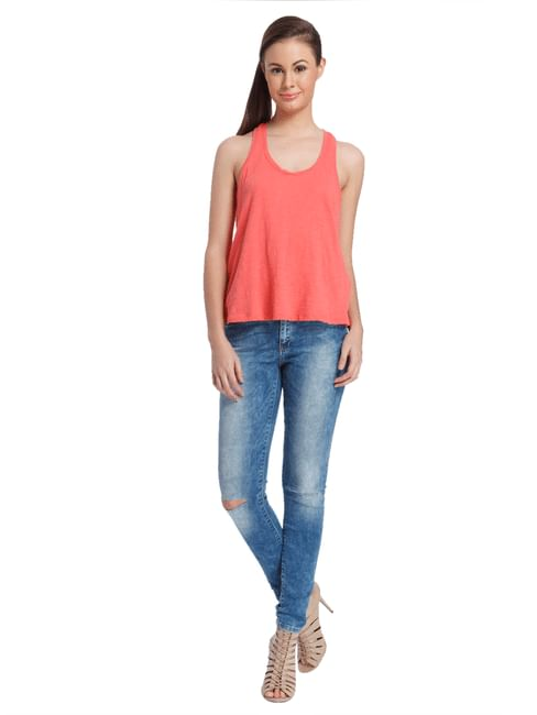 Women Casual Solid Top
