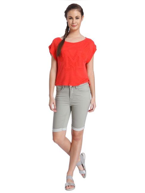 Women Casual Solid T-Shirt