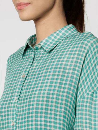 Green Checks Shirt