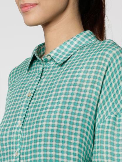 Green Checks Shirt