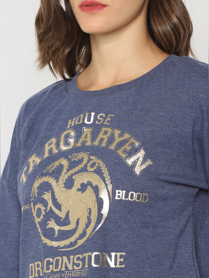 X Got Blue House Targaryen Sweatshirt