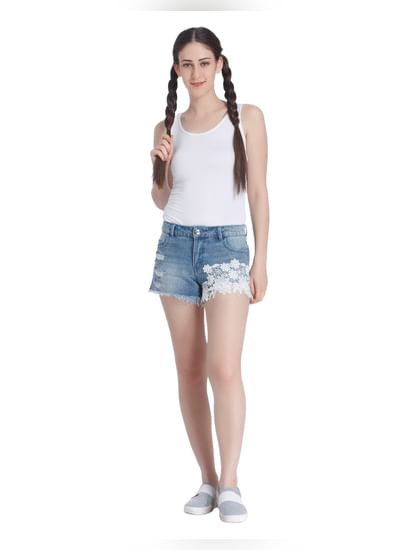 Casual Solid Shorts