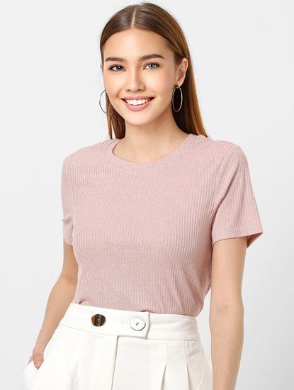 Pink Shimmer Top