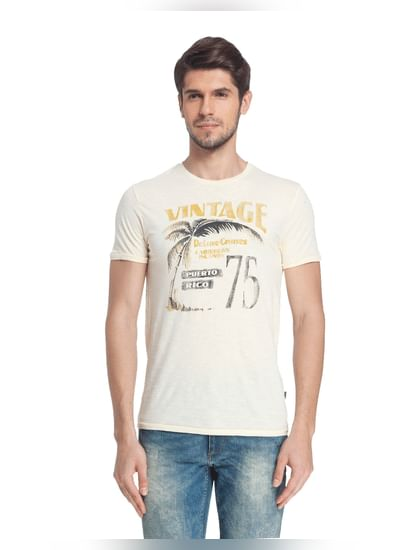 Graphic Print Casual T-Shirt
