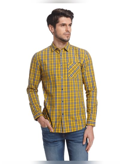 Chequered Casual Shirt