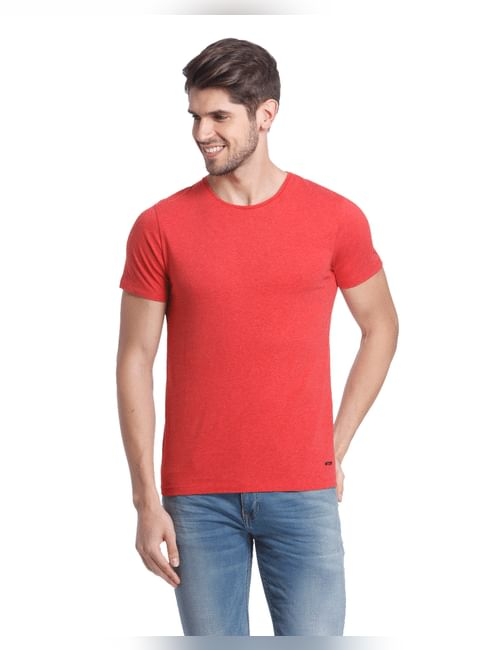 Solid Casual T-Shirt
