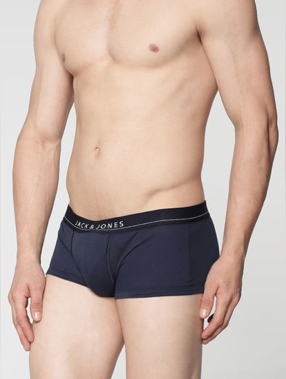 Pack Of Two Brazilian Trunks - Navy And Black