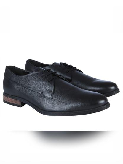 Black Lace Up Formal Shoes