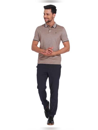 Brown & Black Polo T-Shirt