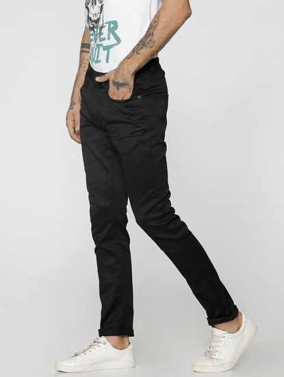 Black Ben Low Rise Skinny Fit Jeans