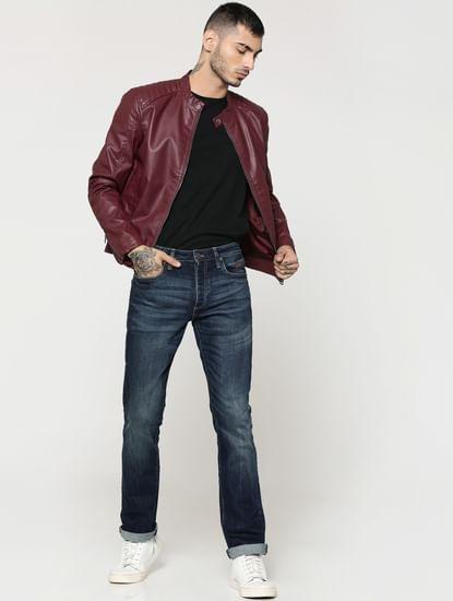 Dark Blue Clark Regular Fit Jeans