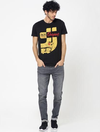 Grey Ben Skinny Fit Jeans