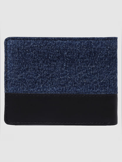 Blue Denim Wallet