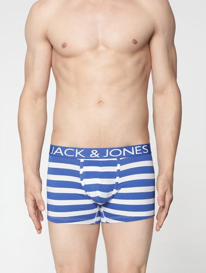 Blue Stripe Trunks