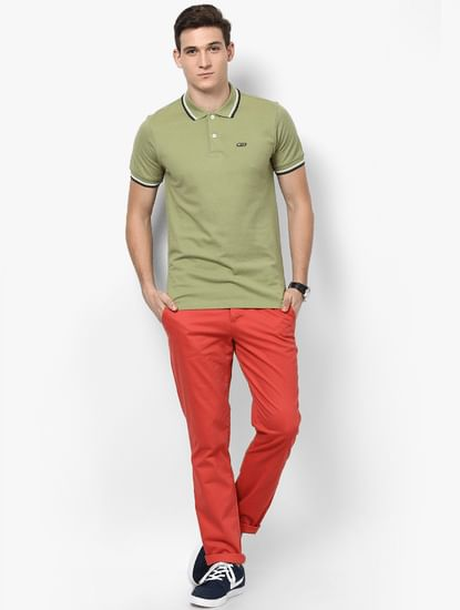 Solid Casual Trouser