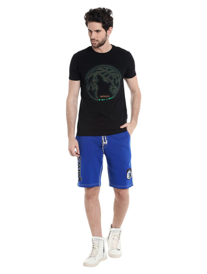 Timberwolves Blue Nba Shorts
