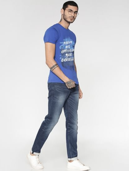 Blue Light Wash Ben Skinny Fit Jeans