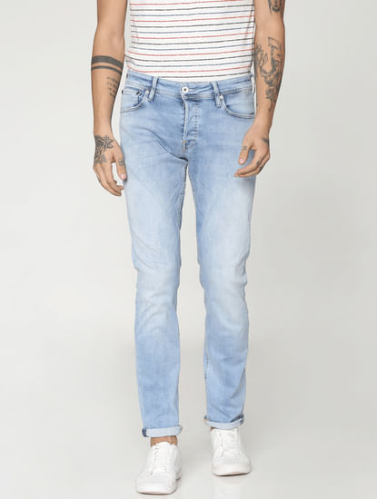 Light Blue Glenn Slim Fit Jeans