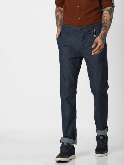 Blue Tim Slim Fit Jeans