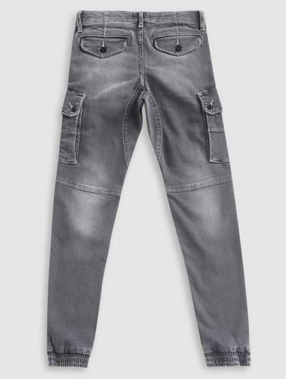 Boys Grey Erik Anti-Fit Jeans