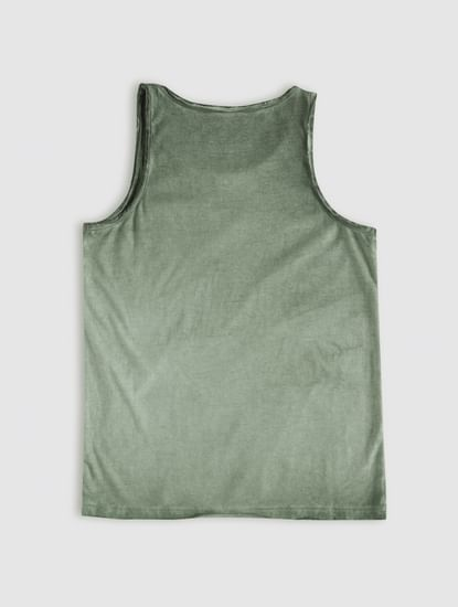 Junior Green Tank Top