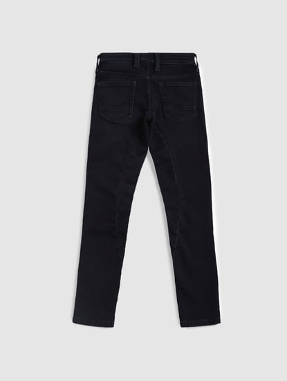 Junior Blue Drawstring Glenn Slim Fit Jeans