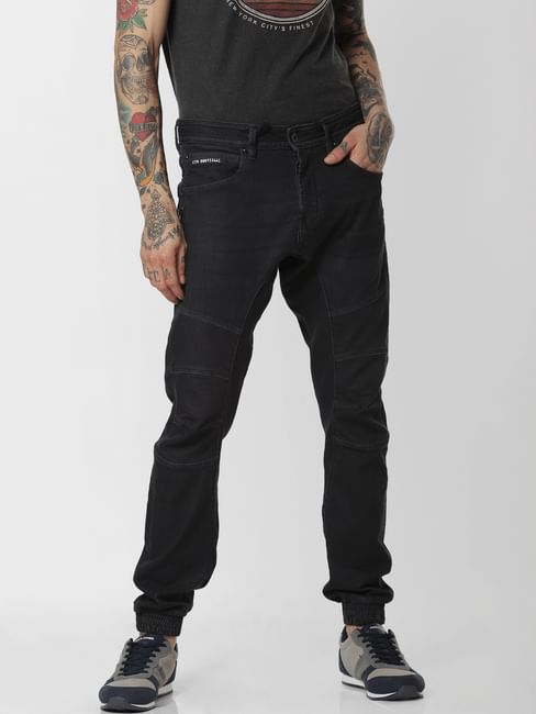 Black High Rise Simon Anti Fit Jeans