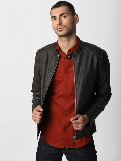 Rust Full Sleeves Shirt