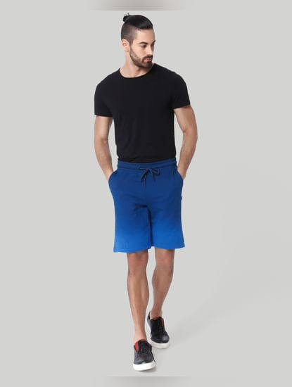 Blue Drawstring Sweatshorts
