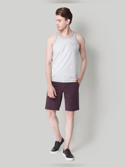 Grey Washed Tank Top