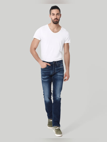 Blue Clark Regular Fit Jeans